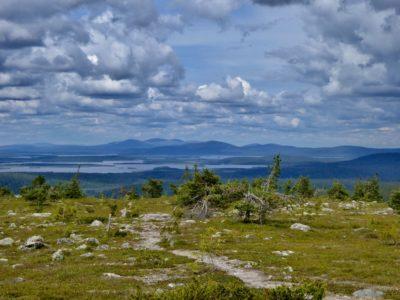 View from top of Äkäskero fell